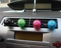 Small ball shape car air vent air freshener