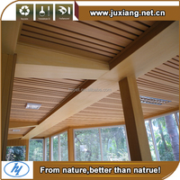 Economical decoration material Eco-friendly design Wpc Ceiling /Pool Ceiling