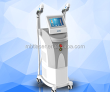 1064nm 532nm IPL + E - light + SHR 3 in 1Hair removal device / CE / ipl + shr ELight Hair Removal portable laser