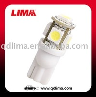 Lima auto bulbs t10 led 12v w5w
