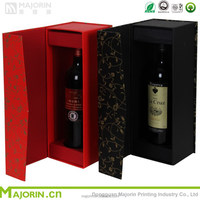 Popular Design Red Wine Packaging Box