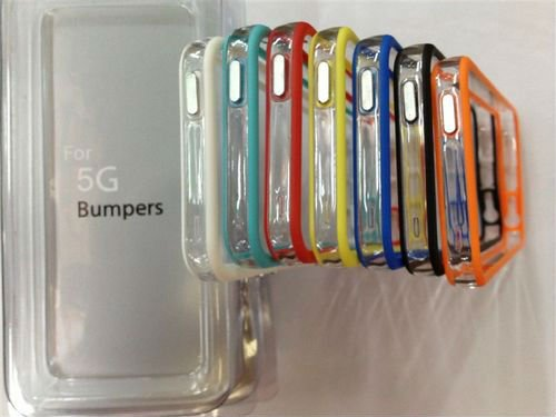 2012 new PC+TPU bumpers case for iphone5 case