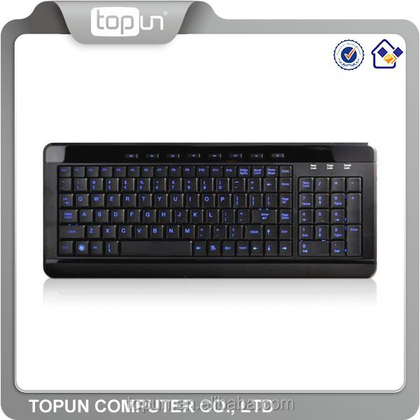 multimedia super slim letter illuminate LED KEYBOARD in desktop computer accessories