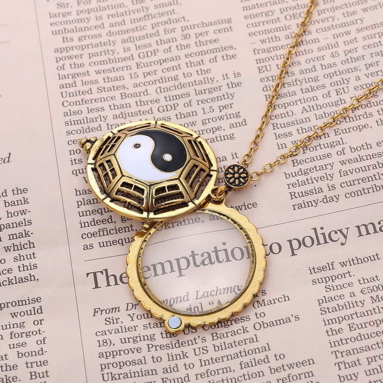 Wholesale New Eight Diagrams Vintage Magnifier Necklace - Alibaba.com