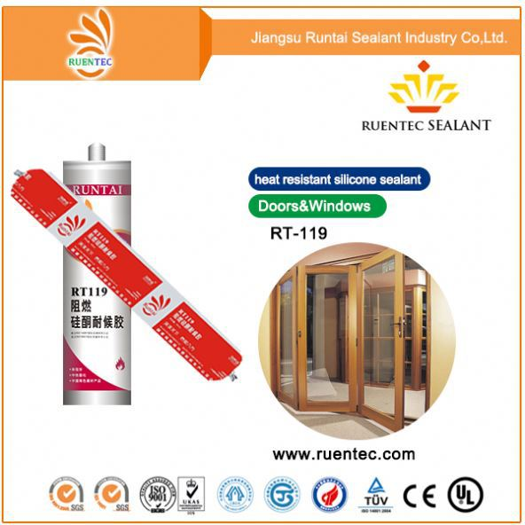 China Supplier Best Neutral Silicone Sealant Black For Glass Bonding