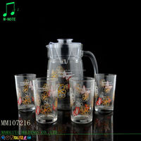 1695ml high quality factory directly supply chinese new product glass tea sets