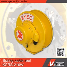 spring retractable /cable reel drag chain crane by KYEC
