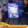 Ali-express new led item neon flashing led illuminated writing board with marker pen alibaba express top supplier on YIWU market