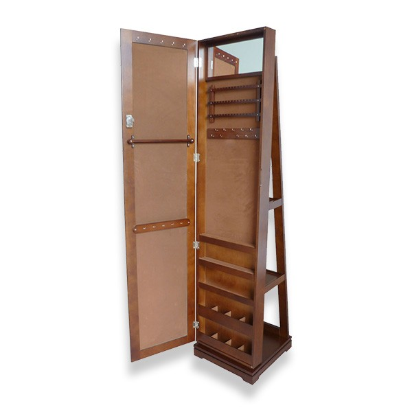 Rotating Mirrored Jewelry Cabinet,Furniture Importers Wholesale
