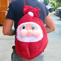 Cute Christmas Santa Claus Xmas Tree Candy Gift Backpack Bag Holder Decorations