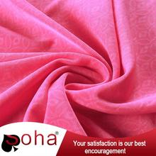 SOHA Factory Outlet Knitted PD with EMBOSS 100 polyester knit fabric