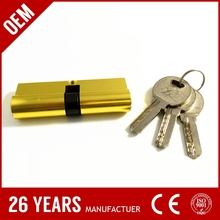 factory cheap price aluminium mortise self-service equipment industrial cam lock cylinder with NB finish color