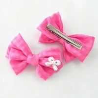 fashion style China custom elegant warm soft hair clips