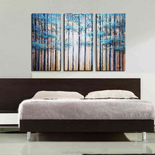 Acrylic Canvas Modern Tree Abstract Oil Painting