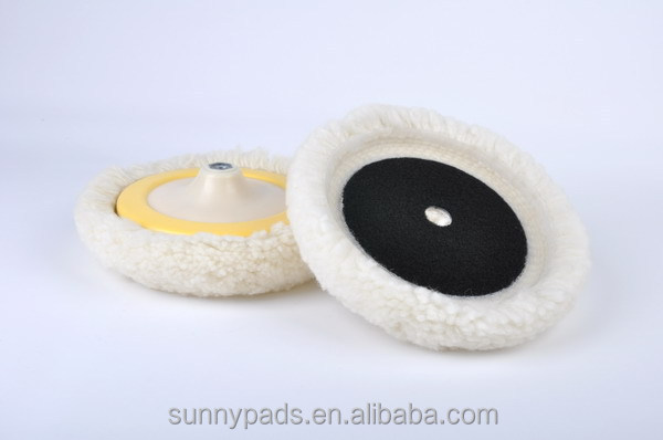 "7"" Single Side Wool Pad"