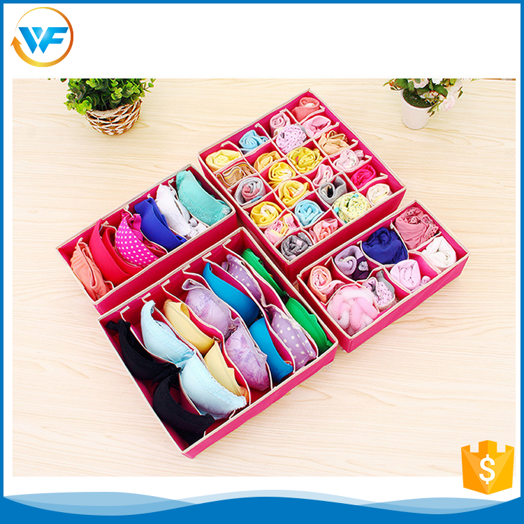 China Reusable Decoration Divide Collapsible Bow Tie Storage Box