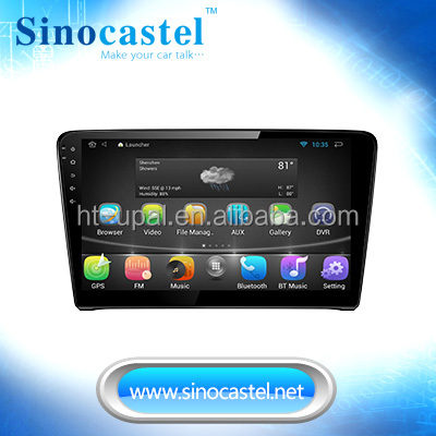 High Resolution 1024*600 1 din android car dvd for VW Santana 2013