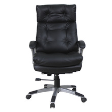 Factory Direct Sale leather and chrome base chairs Commercial Chair high quality pu gaming chair