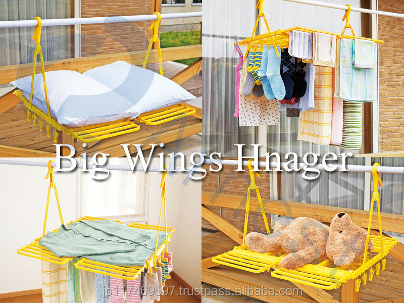 japanese household tool equipment plastic clothes jeans shoes kids toy hanger pinch big wings