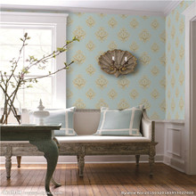 New China Cheap Price 70cm Wide Width Korean Vinyl 3D Wallpaper Home Decoration with PVC