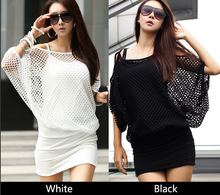 Alibaba hotsale ladies dress long sleeve new Korean fashion women casual knit dress