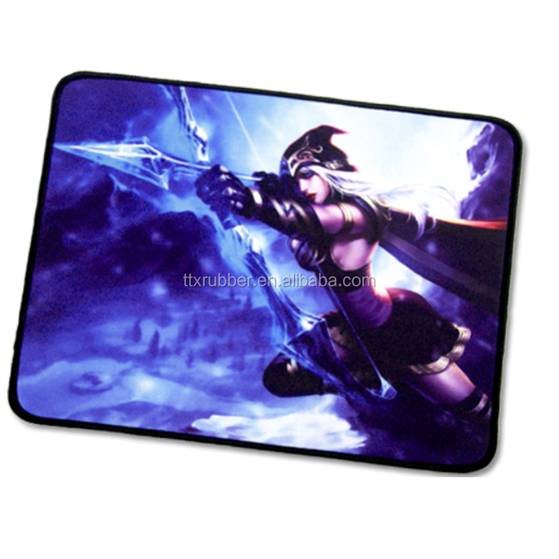 Rubber Mouse Pad for promotional