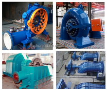 water turbine generator unit / hydro turbine 100kw - 50 MW