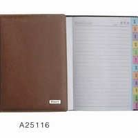 Office Supplies PU Leather Cover Notebook