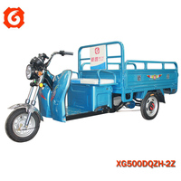2015 new style Xinge 3-wheel electrical van best seller in India