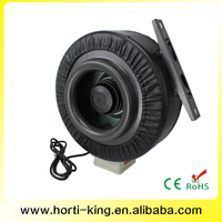 Ventilation quiet Hydroponic extractor fan blower