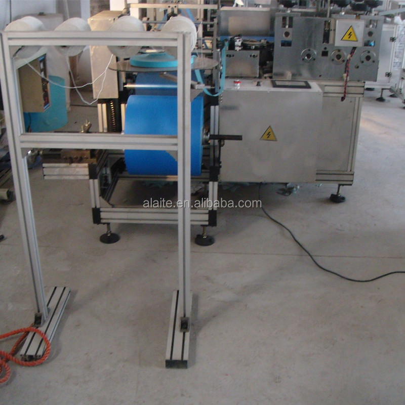 Disposable CPE Shoe Cover Machine Price with Best Quality