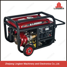 China Lingben Natural Gas Generator Prices In Pakistan 2kw 220V With Wheels LB3500--B