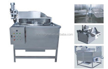 Electric heating full automatic oil-water mixture deep fryer