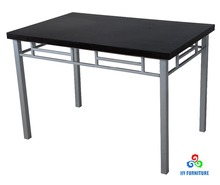 Home furniture cheap dining tables wooden dining table with metal frame