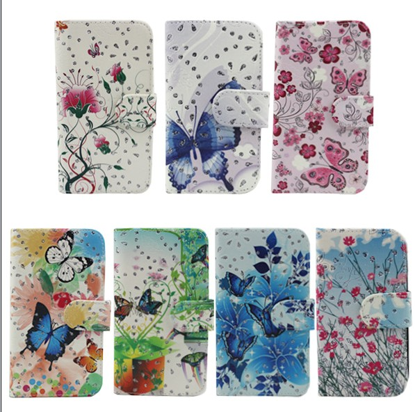 flip leather mobile phone cover case for lenovo s890