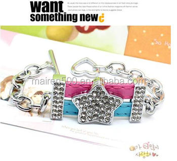 DIY 8mm 18mm slide charm bracelet