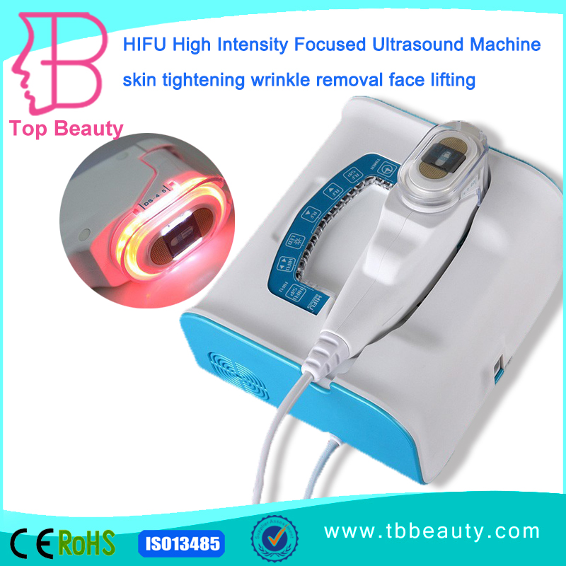 The most popular international portable hifu face lift beauty treatment machine at home