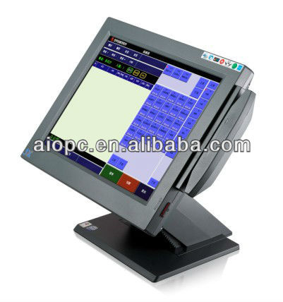 17 Inch All in One LED Touch Screen Electric Cash Register