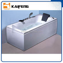 2016 whirlpool bathtub with skirt hot cold faucet waterfall set 1 person portable full body soak massage and steam spa bath pump