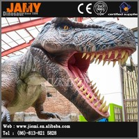 Newly Made Simulation T-rex Dinosaur Robot for Children Dinosaurs Park