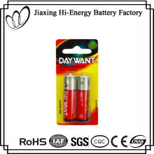 Environment Friendly PVC Jacket Dry Cell UM3 AA R6 1.5V Battery