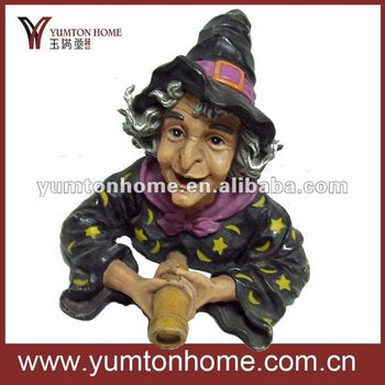witch polyresin craft