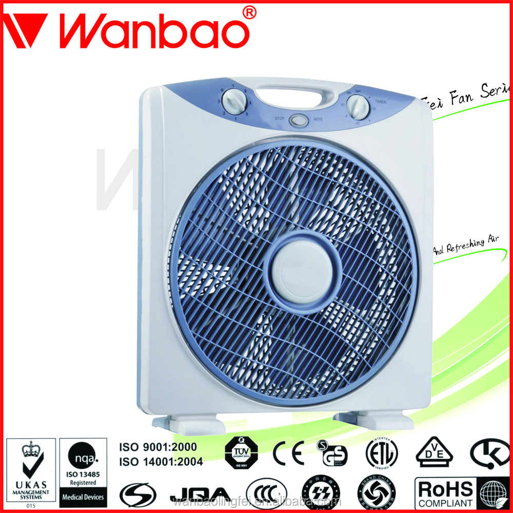 12 Inch 12V DC Motor Box Fan (LF-BF1205)