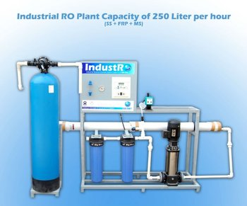 Industrial R O Plant / System Capacity of 250 LPH