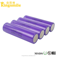 free sample! original LG Li-ion rechargeable 3.7V 3200mah flat top battery cell LG E1
