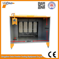 COLO-2315 Powder Coating Spray Booth for Fast Color Change