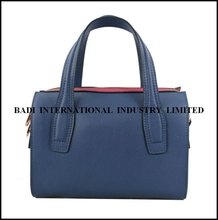 2013 tote napa leather blue frame bags high design bag leather high quality bag real leather 2012
