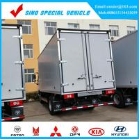 Dry cargo box body FOR JAC light truck china dry van truck body dry truck body CKD