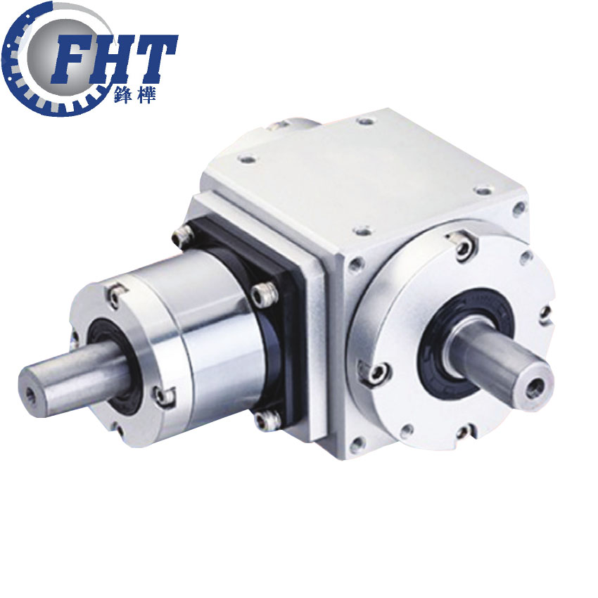 Double output shaft 90 degree gearbox for servo motor PT-2P