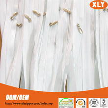 Various style long chain nylon zipper with duvet cover with zipper